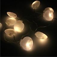 billige -10 ledet 1,5m sterkt lys vanntett plugg utendørs ferie dekorasjon lys ledet streng lys
