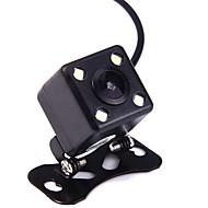 ziqiao® universele waterdichte mini 120 graden auto backup camera met 4 led nachtzichtverlichting
