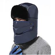 baratos Chapéus e Cachecóis-Esqui Crânio Caps / Máscara Facial Chapéu de Trilha Máscara de Esquiar Unisexo Quente Pranchas de Snowboard Fibra Acrilica Sólido Esqui / Equitação / Ciclismo / Moto Outono / Inverno