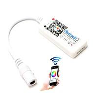 billige Lampesokler og kontakter-1pcs ledet rgb controller max 192w mini bluetooth 4,0 rgbw for rgbw led stripe trådløs iOS android app kontroll dc12-24v