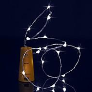 Χαμηλού Κόστους 9η επέτειος πωλήσεων-BRELONG® 1,5 ίντσες Φώτα σε Κορδόνι 15 LEDs Μικροδιακόπτες (Dip) LED Θερμό Λευκό / Άσπρο / Μπλε Αδιάβροχη 1pc