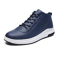 Muškarci Cipele Proljeće Jesen Udobne cipele Sneakers Hodanje za Atletski Crn Crvena Plava
