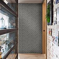 billige Tapet-3D Geometrisk mønster Tapet til Hjemmet Moderne Rustikk Tapetsering , Pvc / Vinyl Materiale Selvklebende bakgrunns , Tapet