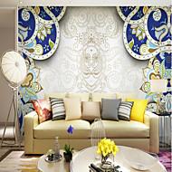 billige Tapet-Art Deco Mønster 3D Hjem Dekor Moderne Tapetsering, Lerret Materiale selvklebende nødvendig Veggmaleri, Tapet