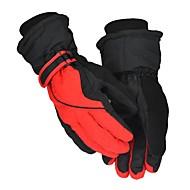 cheap Ski Gloves-Ski Gloves Men's Full-finger Gloves Keep Warm Coating Outdoor Exercise Motobike/Motorbike Winter