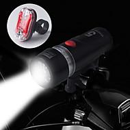 billige Sykkellykter og reflekser-Sykkellykter Baklys til sykkel Frontlys til sykkel LED Sykling Vanntett 14500 AA 100 Lumens Batteri Sykling