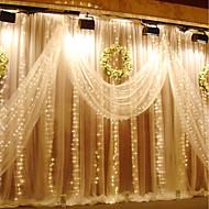 3m x 3m 300 led raamgordijn snaarlicht voor bruiloftsfeest huis tuin slaapkamer buiten binnenwand decoraties