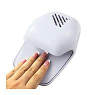 1 pcs portable sèche-ongles ventilateur durcissement ongles gel poli sèche-cheveux vents séchage rapide ongle humide
