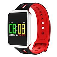 tanie Inteligentne zegarki-Inteligentne Bransoletka Wbudowany Bluetooth Wodoszczelny Spalone kalorie Czuj dotyku Kontrola APP Pulse Tracker Krokomierz Rejestrator