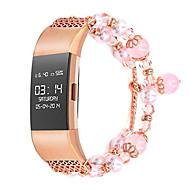 preiswerte -Uhrenarmband für Fitbit Charge 2 Fitbit Schmuckdesign Metall Handschlaufe