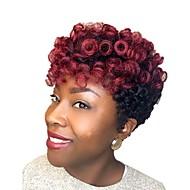 Fletning af hår Bouncy Curl / Kenzie Curl Forhæklede fletninger Syntetisk hår 20 rødder / pakning Hårfletninger Kort Ny ankomst / Afrikanske fletninger
