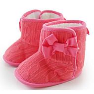 Baby Schuhe Gestrickt Herbst Winter Komfort Lauflern Stiefel Für Normal Grau Fuchsia Rosa