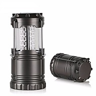 cheap Flashlights & Camping Lanterns-LED lm 1 Mode Camping/Hiking/Caving Everyday Use Black Grey