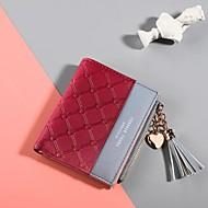お買い得  バッグ-女性用 バッグ PU 財布 タッセル ピンク / ライトパープル / ライトグレー