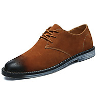 Masculino sapatos Couro Ecológico Primavera Outono Conforto Tamancos e Mules Para Preto Marron