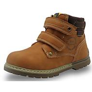 Poikien kengät PU Syksy Talvi Comfort Maiharit Bootsit Käyttötarkoitus Kausaliteetti Tumman sininen Ruskea