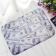 Padrão de dólares criativos e tapete antiderrapante