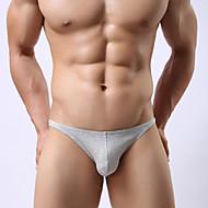 Homens Cueca Boxer Tanga & Fio Dental Modeladoras Sólido