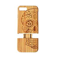 billiga Mobil cases & Skärmskydd-fodral Till iPhone 7 Plus / Apple iPhone 8 Plus / iPhone 7 Plus Stötsäker Skal Trämönstrat Hårt Bambu för iPhone 8 Plus / iPhone 7 Plus