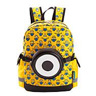 Infantil Bolsas Todas as Estações Poliéster Bolsas Kids ' Ziper para Casual Preto Vermelho Amarelo