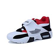 Χαμηλού Κόστους Παπούτσια για τρέξιμο-Ανδρικά Καοτσούκ Άνοιξη / Φθινόπωρο Ανατομικό Αθλητικά Παπούτσια Λευκό / Μαύρο / Ρουμπίνι