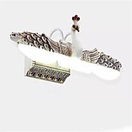 billige Vanity-lamper-QIHengZhaoMing Moderne / Nutidig Baderomsbelysning Metall Vegglampe IP24 110-120V / 220-240V 10W