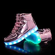 Jungen Schuhe Kunststoff Herbst Winter Komfort Modische Stiefel Stiefeletten Leuchtende LED-Schuhe Stiefel Booties / Stiefeletten