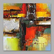 halpa -Maalattu Abstrakti Moderni Kanvas Hang-Painted öljymaalaus Kodinsisustus 1 paneeli