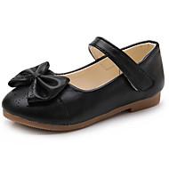 お買い得  フラワーガールシューズ-女の子 靴 PUレザー 春夏 コンフォートシューズ / フラワーガールシューズ フラット のために ゴールド / ブラック / ピンク