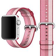 billiga Smart klocka Tillbehör-Klockarmband för Apple Watch Series 4/3/2/1 Apple Klassiskt spänne Nylon Handledsrem