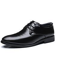 Muškarci Cipele Koža Proljeće Jesen Udobne cipele Oksfordice za Kauzalni Crn Braon