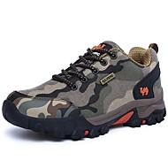 baratos Sapatos Masculinos-Homens Lona Primavera / Outono Conforto Tênis Aventura Côr Camuflagem Laranja / Amarelo / Azul