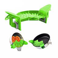 baratos Utensílios de Fruta e Vegetais-Utensílios de cozinha silica Gel Gadget de Cozinha Criativa Coadores para Noodles 1pç