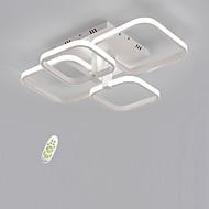 baratos -4 head square sem eletricidade iluminação led ceilinglamp simplicidade moderna sala de estar sala de jantar luminária