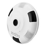 billige IP-kameraer-veskys® 1080p 2.0mp 360 graders HD full visning ip nettverk sikkerhet wifi kamera / h.265 / infrarød pluss hvitt lys