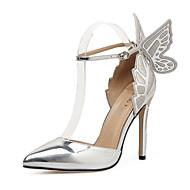 Χαμηλού Κόστους -Γυναικεία Παπούτσια Δερματίνη Άνοιξη / Φθινόπωρο Ανατομικό / Πρωτότυπο / Μοντέρνες μπότες Τακούνια Τακούνι Στιλέτο Στρογγυλή Μύτη Μποτίνια