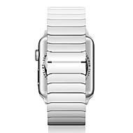 billiga Smart klocka Tillbehör-Klockarmband för Apple Watch Series 3 / 2 / 1 Apple fjäril spänne Keramisk Handledsrem