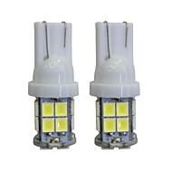 LORCOO 2pcs T10 Automobil Žarulje 2W W 40lm lm LED Svjetla u unutrašnjosti