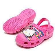 baratos Sapatos de Menina-Para Meninas Sapatos Pele PVC Inverno Conforto Chinelos e flip-flops para Roxo / Fúcsia / Rosa claro