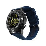 tanie Inteligentne zegarki-Inteligentny zegarek JSBP-EX28A na Android 4.3 / iOS 7 Spalone kalorie / Współpracuje z iOS i system Android. / Powiadamianie o wiadomości / Powiadamianie o połączeniu telefonicznym / Kontrola APP