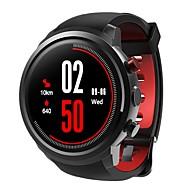 tanie Inteligentne zegarki-Inteligentny zegarek Krokomierze Powiadamianie o połączeniu telefonicznym Odbieranie bez użycia rąk Kontrola APP Powiadamianie o