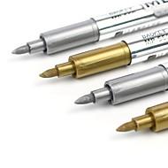 Tussit & Korostuskynät Kynä Kynä,Muovit Kulta Hopea Ink Colors For Koulutarvikkeet Toimistotarvikkeet Pakkaus 1