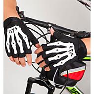 お買い得  自転車用グローブ-スポーツグローブ サイクルグローブ 耐久性 高通気性 フィンガーレス シリコン 繊維 マウンテンサイクリング ロードバイク サイクリング / バイク アクティビティ&スポーツグローブ 女性用