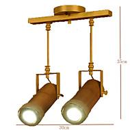 billige Spotlys-Sporlamper Nedlys - LED, Vintage Land Traditionel / Klassisk Retro Rød, 110-120V 220-240V, Varm Hvit, Pære Inkludert
