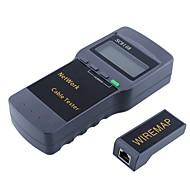 billige Netværkstestere og værktøj-bærbar lcd trådløs netværks tester meter&lan telefon kabel tester&meter med lcd display rj45