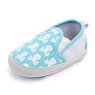 お買い得  ベビー用靴-女の子 靴 繊維 春 コンフォートシューズ / 赤ちゃん用靴 / 幼児用靴 フラット ゴア のために ブラック / ピンク / ライトブルー