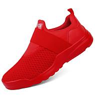 Muškarci Cipele Pletivo Proljeće Jesen Udobne cipele Sneakers za Kauzalni Vanjski Obala Crn Crvena