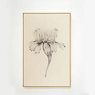 billige Innrammet kunst-Botanisk Olje Maleri Veggkunst,Legering Materiale med ramme For Hjem Dekor Rammekunst Stue