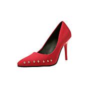 abordables Talons pour Femme-Femme Chaussures Polyuréthane Eté Salomé Chaussures à Talons Talon Bottier Block Heel Bout ouvert Paillette pour Décontracté Noir Gris
