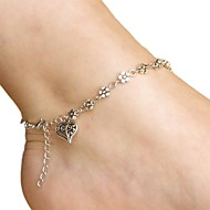cheap Shoes Accessories-Alloy Foot Accent Women's Casual Vacation Gold Silver